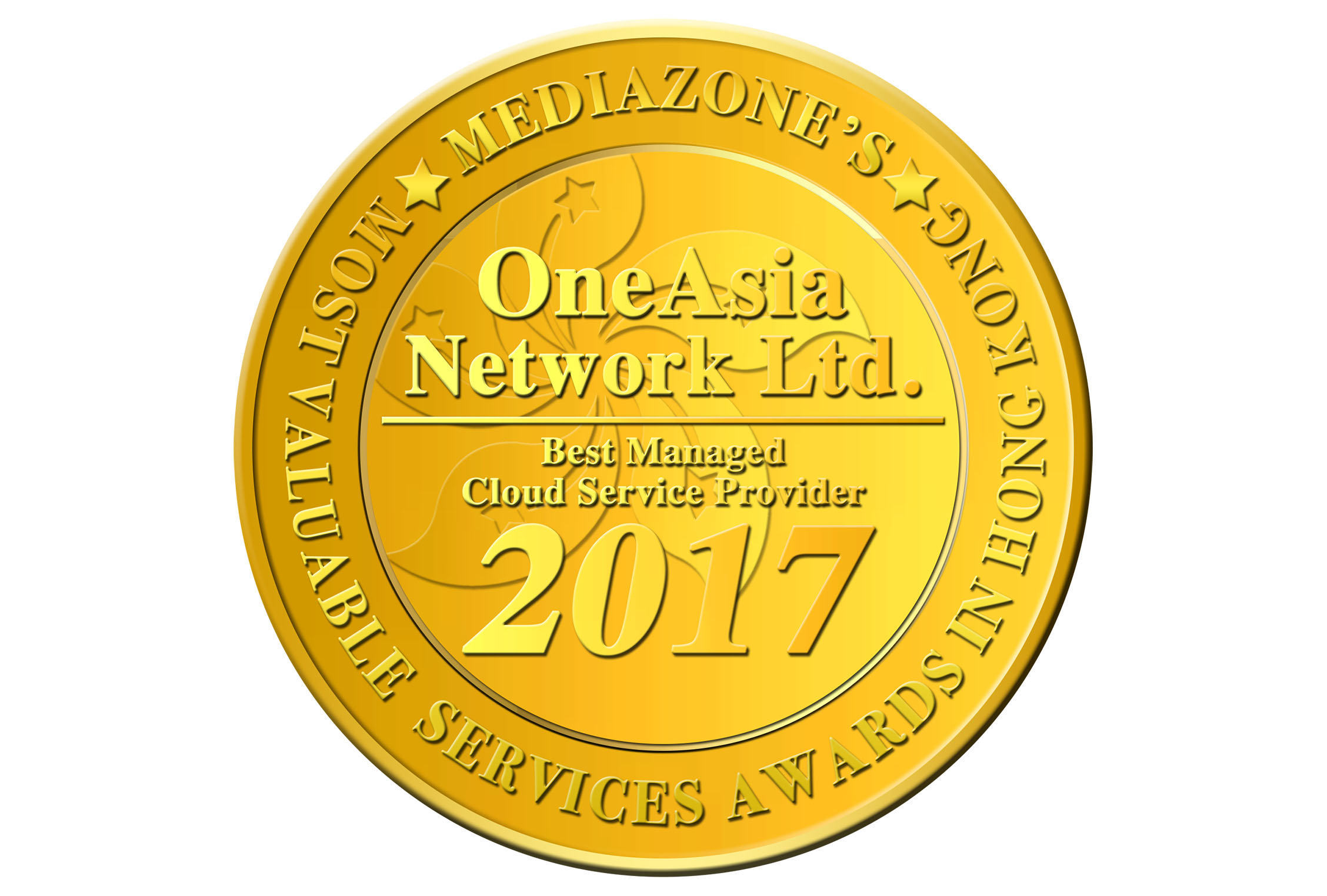 Awards certifications oneasia network limited mediazone hk most valuable services awards best managed cloud service provider 2017 xflitez Gallery